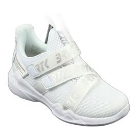 Bartek 75213 Buty Sportowe wkładka skórzana białe szare 1