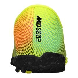 Buty piłkarskie Nike Vapor 13 Academy Mds Tf Jr CJ1178-703 wielokolorowe żółte 2