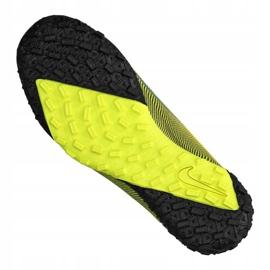 Buty piłkarskie Nike Vapor 13 Academy Mds Tf Jr CJ1178-703 wielokolorowe żółte 3
