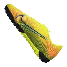 Buty piłkarskie Nike Vapor 13 Academy Mds Tf Jr CJ1178-703 wielokolorowe żółte 5