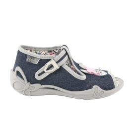 Befado obuwie dziecięce 213P119 szare 1