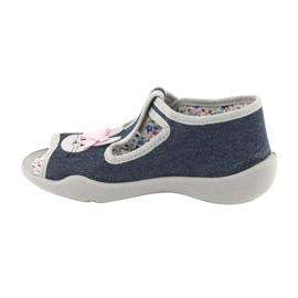 Befado obuwie dziecięce 213P119 szare 3