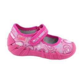 Befado obuwie dziecięce 109P162 różowe 1