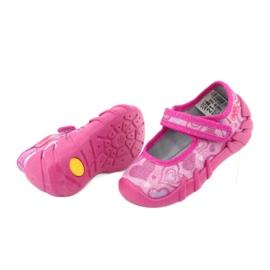Befado obuwie dziecięce 109P162 różowe 5