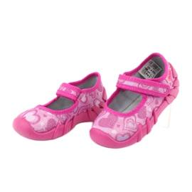 Befado obuwie dziecięce 109P162 różowe 4