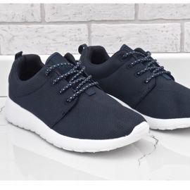 Granatowe obuwie sportowe 9-6836B-12 3