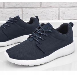 Granatowe obuwie sportowe 9-6836B-12 4