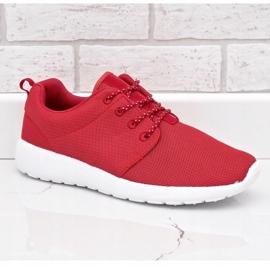 Czerwone obuwie sportowe 9-6836G-12 1