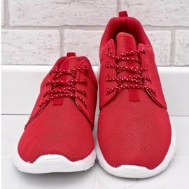 Czerwone obuwie sportowe 9-6836G-12 4