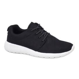 Czarne obuwie sportowe 9-6836A-12 1