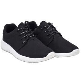 Czarne obuwie sportowe 9-6836A-12 2