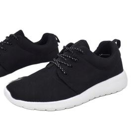 Czarne obuwie sportowe 9-6836A-12 3