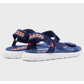 Sandały adidas Comfort Sandal EG6690 granatowe 3
