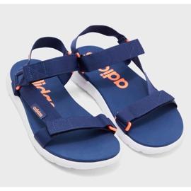 Sandały adidas Comfort Sandal EG6690 granatowe 4