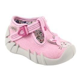 Befado obuwie dziecięce 110P374 różowe 2