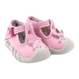 Befado obuwie dziecięce 110P374 różowe 5