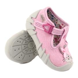 Befado obuwie dziecięce 110P374 różowe 4