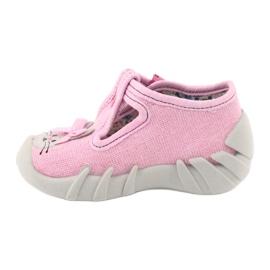 Befado obuwie dziecięce 110P374 różowe 3