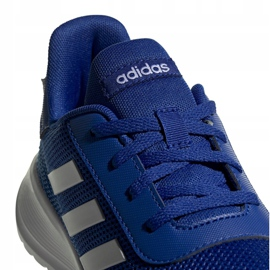 Buty adidas Tensaur Run K Jr EG4125 niebieskie 3