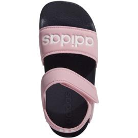 Sandały adidas Adilette Sandal K Jr G26876 różowe 1