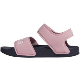 Sandały adidas Adilette Sandal K Jr G26876 różowe 2