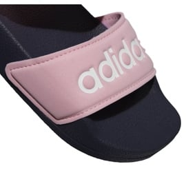 Sandały adidas Adilette Sandal K Jr G26876 różowe 3