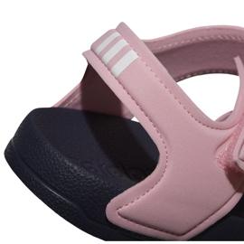 Sandały adidas Adilette Sandal K Jr G26876 różowe 4