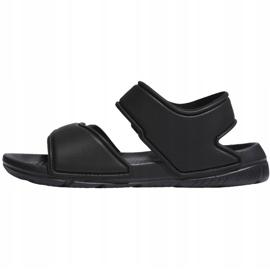 Sandały adidas Altaswim C Jr EG2134 czarne 2