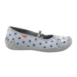 Befado obuwie dziecięce 116Y230 niebieskie 1