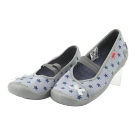 Befado obuwie dziecięce 116Y230 niebieskie 3