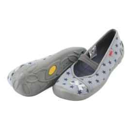 Befado obuwie dziecięce 116Y230 niebieskie 4