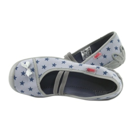 Befado obuwie dziecięce 116Y230 niebieskie 5