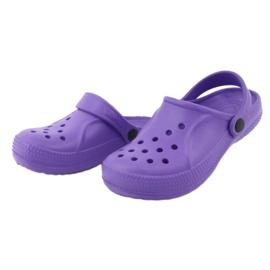 Befado inne obuwie dziecięce - fiolet 159Y002 fioletowe 4