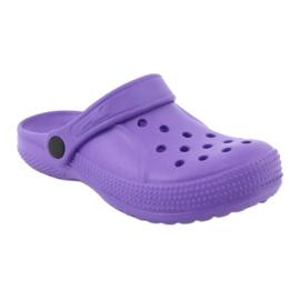 Befado inne obuwie dziecięce - fiolet 159Y002 fioletowe 2