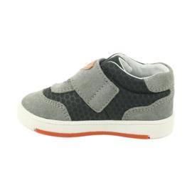 Buty sportowe trampki na rzep Bartek 71141 pomarańczowe szare 2
