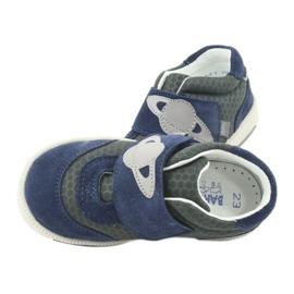 Bartek buty sportowe trampki na rzep 71141 granatowe szare 6