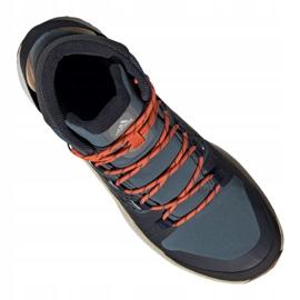 Buty adidas Terrex Folgian Mid Gtx M EF6766 czarne wielokolorowe niebieskie 3