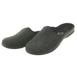Befado obuwie męskie pu 548M022 czarne szare 3