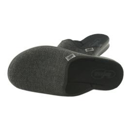 Befado obuwie męskie pu 548M022 czarne szare 5