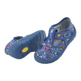 Befado  obuwie dziecięce  533P003 niebieskie wielokolorowe 6