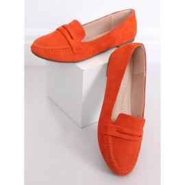 Mokasyny damskie pomarańczowe 3900 Orange 1