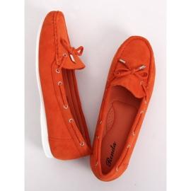 Mokasyny damskie pomarańczowe RQ-1 Orange 3