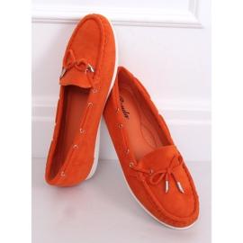 Mokasyny damskie pomarańczowe RQ-1 Orange 4