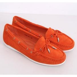 Mokasyny damskie pomarańczowe RQ-1 Orange 5
