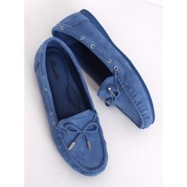 Mokasyny damskie niebieskie RQ-1 Blue 3