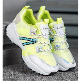 Bona Sneakersy Z Siateczką Love 1