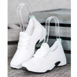 Kylie Klasyczne Buty Sportowe białe 1