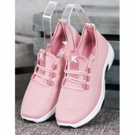 Kylie Klasyczne Buty Sportowe różowe 2