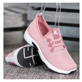 Kylie Klasyczne Buty Sportowe różowe 1