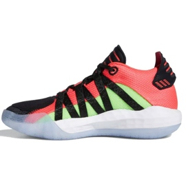 Buty adidas Jr Dame 6 J EH2791 czarne wielokolorowe 1